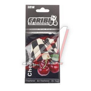 Ароматизатор подвесной пластина (вишня) Formula-1 CARIBI CRB-F1 вишня