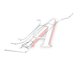 Трубка топливная ЗИЛ-130 комплект 7шт. 130-1104050/20/*, 130-1104050-40