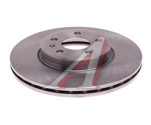 Диск тормозной AUDI A4,A5 (08-) передний (1шт.) (314х25) KORTEX KD0204, DF4866S, 8K0615301