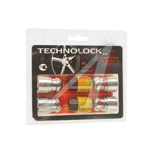 Гайка колеса М12х1.5х36 секретки сфера закрытая комплект 4шт. 2 головки 19мм TECHNOLOCK TL-AC, AC