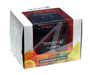 Ароматизатор на панель приборов гелевый (солнечный цитрус) 100г Black Label AURAMI BL-02