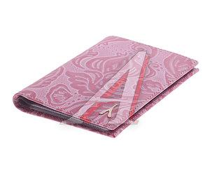 Бумажник водителя женкий из кожи розовый АСКЕНТ 481078, BV.32.FR.