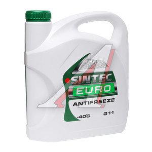 Антифриз зеленый -40С 5кг Euro SINTEC 800523, SINTEC