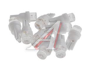 Лампа светодиодная 12V W5W T10W W2.1x9.5d бесцокольная 1 LED CONE White MEGA ELECTRIC 050312W, ME-050312W