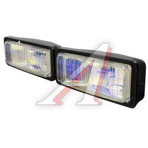 Фара дальнего света 12V 190x7мм с крышкой laser комплект SIRIUS NS-351L