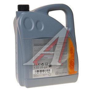 Масло моторное MERCEDES 5W30 синт.5л (спецификация 229.51) (ЗАМЕНА НА A000989760213BLER) OE A0009899701AAA4, MERCEDES 5W30