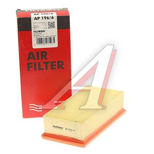 Фильтр воздушный PEUGEOT 208 (12-) CITROEN C3,C4 (12-) FILTRON AP196/6, LX3456, 9674725580