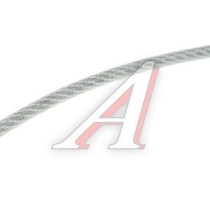 Трос d=3/4мм металлический в изоляции 1м DIN ТРОС В ПВХ