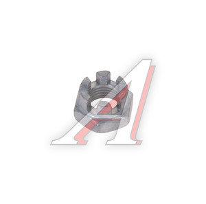 Гайка М12х1.25х12 ВАЗ-2108 пальца рулевого прорезная 2108-3414078