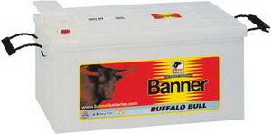 Аккумулятор BANNER Buffalo Bull 140А/ч обратная полярность 6СТ140 640 35, 640 35