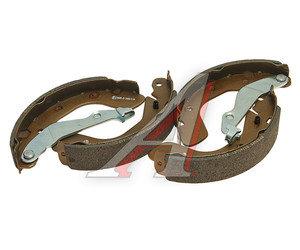 Колодки тормозные CHEVROLET Aveo (03-) задние барабанные (4шт.) FENOX BP53045, GS8760, 96473229