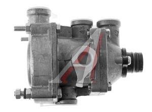 Клапан ЗИЛ,КАМАЗ,МАЗ двухпроводный управления тормозами прицепа с креплением под шумоглушитель РААЗ 100-3522010-10