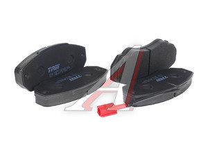 Колодки тормозные PEUGEOT Boxer CITROEN Jumper FIAT Ducato (94-) передние (4шт.) TRW GDB1517, 2391701, 77362219