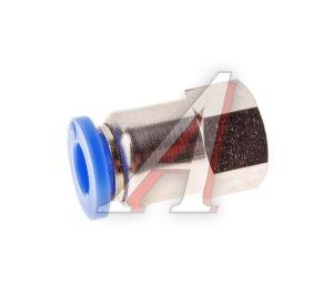 Соединитель трубки ПВХ,полиамид d=6мм (внутренняя резьба) М10х1 прямой PCF M10x1 d=6, АТ-0720