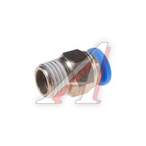 """Фитинг для пластиковых трубок 1/4"""" 8мм с наружной резьбой ROCK FORCE RF-SPC08-02"""