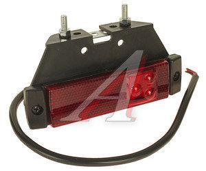 Фонарь габаритный LED 24V красный с кронштейном АВТОТОРГ 551444, 720307/551443