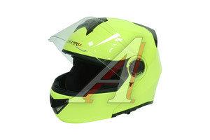 Шлем мото (модуляр) MICHIRU зеленый MF 120 XL, 4650066004281