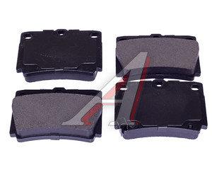 Колодки тормозные MITSUBISHI Pajero Sport,Montero Sport (98-09) (2.5 D/3.0) задние (4шт.) SANGSIN SP1522, GDB3239