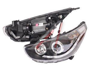 Фара HYUNDAI Solaris (11-) ходовые огни,корректор,линза,черный комплект PRO SPORT RS-08909
