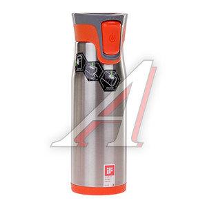Термокружка 600мл непроливайка оранжевая Aria CONTIGO 320-686, 1000-0123