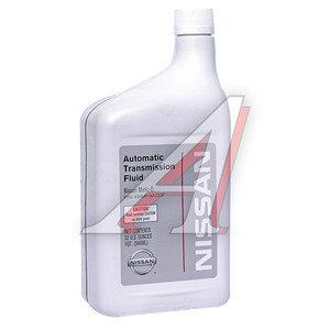 Масло трансмиссионное ATF NISSAN MATIC АКПП и раздатка (для США) 1л OE 999MP-AA100P, NISSAN ATF