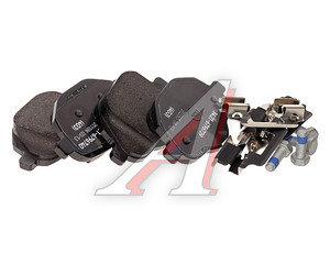 Колодки тормозные BMW 5 (F10),X3 (F25) задние (4шт.) OE 34216796741, GDB1840/34216862202