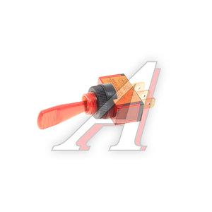 Выключатель перекидной 3-х контактный цветной тумблер ВК 12V