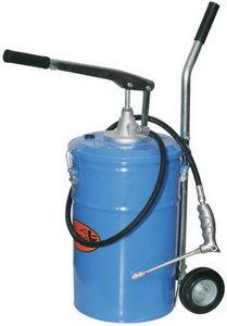 Нагнетатель масла (маслораздатчик) ручной с емкостью 25л, 28г/ход, передвижной АВТОДЕЛО АВТОДЕЛО 42032, 12548