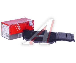 Колодки тормозные INFINITI FX (S51) (08-) передние (4шт.) TRW GDB3505, D1060-JL00A/D1060-JL00B/D1060-JL00K