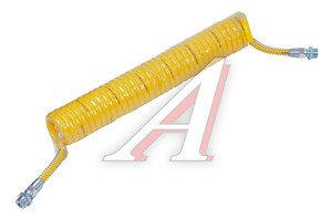 Шланг пневматический витой М22 L=7.5м (желтый) (t=-45+50) СМ AIR FLEX М22 L=7.5м (желтый), СМ452.711.006.0