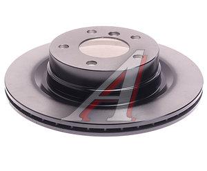 Диск тормозной BMW 1 (E81,E87,F20),3 (E90,F30) задний (1шт.) TRW DF4450, 34216792227