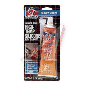 Герметик оранжевый силиконовый высокотемпературный 85г RTV PERMATEX PERMATEX 81422/27BR, PR-81422