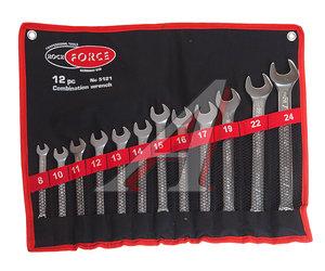 Набор ключей комбинированных 8-24мм 12 предметов в сумке ROCK FORCE RF-5121