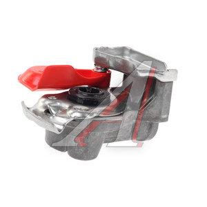 Головка соединительная тормозной системы прицепа 16мм (грузовой автомобиль) красная с клапаном WABCO 9522002210, 07080