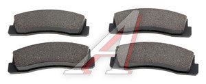 Колодки тормозные ВАЗ-2121,2123 передние (4шт.) FERODO PREMIER FDB195, 2121-3501090