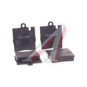 Колодки тормозные MERCEDES W210, W203,SLK230 задние (4шт.) HSB HP9534, GDB1421, 0034202820