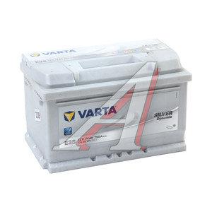 Аккумулятор VARTA Silver Dynamic 74А/ч обратная полярность, низкий 6СТ74 E38, 574 402 075 316 2