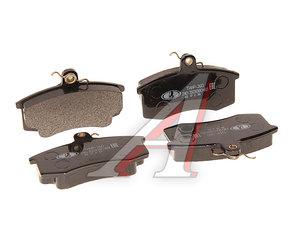 Колодки тормозные ВАЗ-2110 передние (4шт.) в упаковке LADA 2110-3501080-60 (ТИИР-260), 21100350180082, 2110-3501080