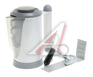 Чайник автомобильный 12V 100Вт 0.7л белый (2 чашки, подставка, сито) KOTO LT031001