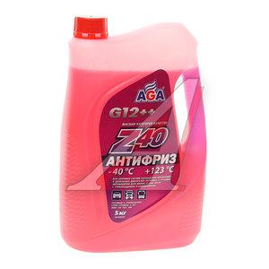 Антифриз красный -40С 5л Antifreeze Z40 AGA AGA002Z
