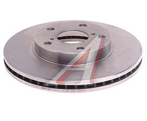 Диск тормозной TOYOTA Rav 4 (00-05) передний (1шт.) BREMBO 09.9185.10, DF4161, 43512-42031