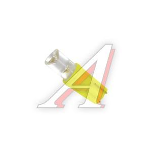 Лампа светодиодная 12V W1.2W Bax8.5d Yellow MEGAPOWER 30413Y, M-30413Y-OLD, А12-1,2