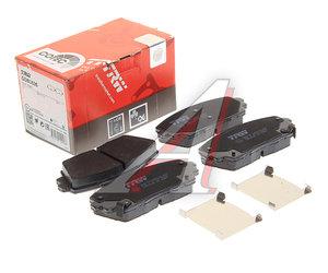 Колодки тормозные KIA Picanto (11-) передние (4шт.) TRW GDB3535, 58101-1YA30