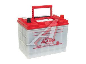 Аккумулятор ALASKA MF calcium+ 75А/ч обратная полярность 6СТ75 80D26L, 80D26L
