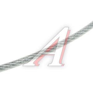 Трос d=5/6мм металлический в изоляции 1м DIN ТРОС В ПВХ