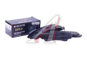 Колодки тормозные HYUNDAI Starex H-1 (07-) KIA Carnival (05-) передние (4шт.) HSB HP1039, GDB3448, 58101-4HA00