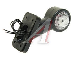 Фонарь габаритный и контурный LED 12/24V белый/красный ЕВРОСВЕТ ГФ3.4LED2