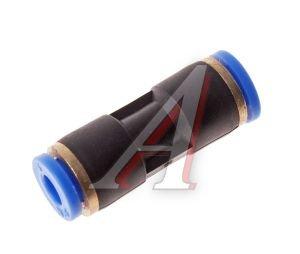Соединитель трубки ПВХ,полиамид d=5мм прямой PUC05, АТ-331