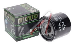 Фильтр масляный мото HONDA CBR600,VFR KAWASAKI YAMAHA HIFLO FILTRO HF204, OC575