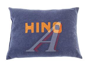 Подушка автомобильная HINO ткань синяя АВТОРЕАЛ Подушка HINO ткань синяя